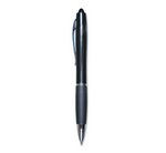 Zebra Z Grip Max Retractable Ballpoint Jeweled Barrel Black/Blue