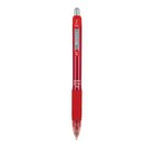 Zebra Z Grip Gel Retractable Red