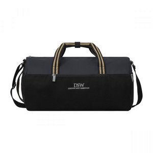 Charlie Cotton Barrel Duffel Black