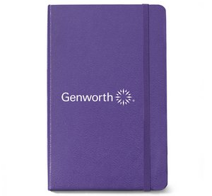 Moleskine  Hard Cover Ruled Large Notebook - Brilliant Violet