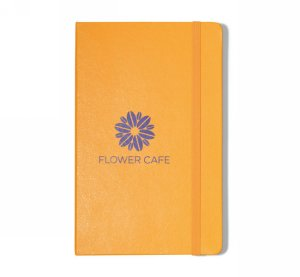 Moleskine Hard Cover Ruled Large Notebook Orange Yellow