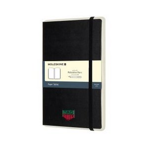 Moleskine  Paper Tablet N?1 - Ruled Paper Black