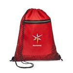 Cyclone Cinchpack Red/Black Pattern