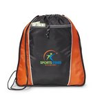 Sprint Sport Cinchpack Tangerine - Kid Friendly