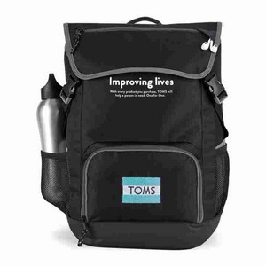 Ollie Computer Backpack Black