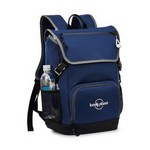 Ollie Computer Backpack Navy Blue