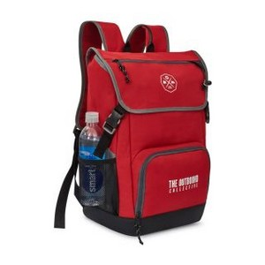 Ollie Computer Backpack Red
