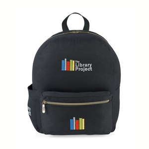 Russell Cotton Backpack - Black