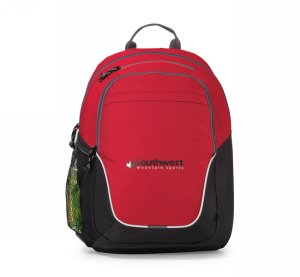 Mission Backpack Red