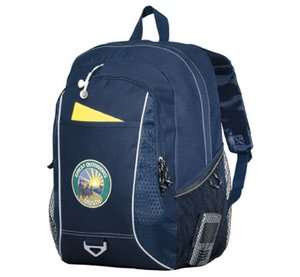 Atlas Computer Laptop Backpack - Navy Blue