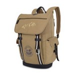 Heritage Supply  Ridge Cotton Computer Backpack Dune