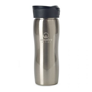 Commuter Double Wall Stainless Tumbler - 14 Oz. Stainless Steel