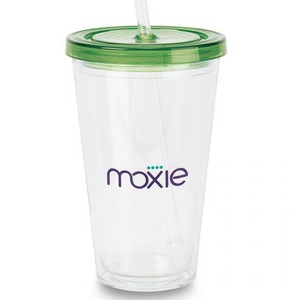 Splash Double Wall Tritan Travel Cup - 18 Oz. Apple Green