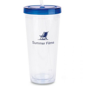 Splash XL Double Wall Tritan Travel Cup - 24 Oz. Royal Blue