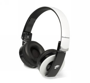 Brookstone Rhapsody Bluetooth Headphones White