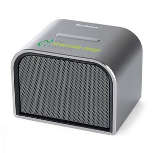 Brookstone Ultra Bluetooth Speaker Brushed Silver