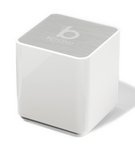 Brookstone Bluetooth Pop-Up Speaker White