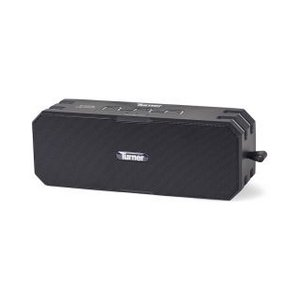 Brookstone  Armor Waterproof  Dustproof Bluetooth  Speaker Black