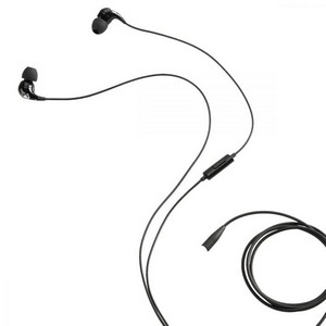 Brookstone Big Blue Ear Buds Black