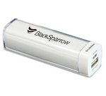 Brookstone Surge Power Bank - 2200mAh White