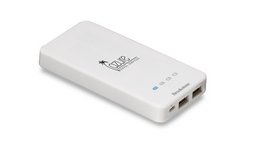 Brookstone Enterprise Power Bank - 4000 mAh White