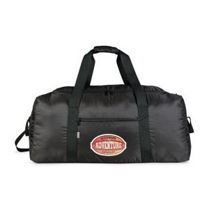 Brookstone Dash Packable Travel Duffel Black