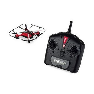 Brookstone Flight Force HD Video Drone Red