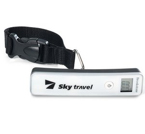 Brookstone® Digital Luggage Scale White