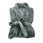 Brookstone Nap Robe Grey_SM/M