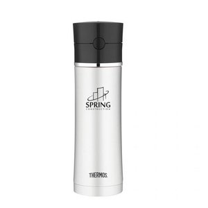 Thermos Sipp Hydration Bottle - 18 Oz. Black/Stainless Steel
