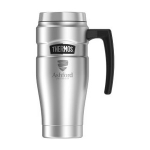 Thermos Stainless King Travel Mug - 16 Oz. Stainless Steel