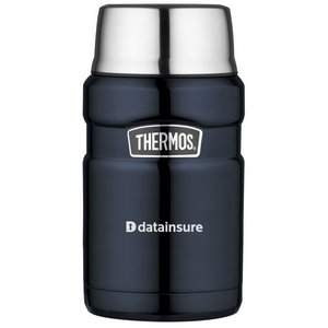 Thermos Stainless King  Food Jar - 24 oz. Midnight Blue