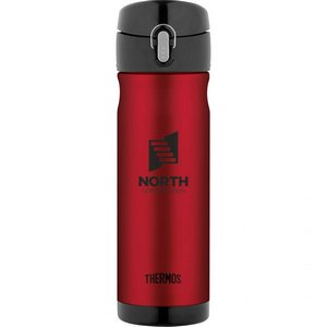 Thermos Backpack Bottle - 16 Oz. Cranberry