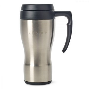 Thermocafe? by Thermos Stainless Steel Travel Mug - 16 Oz. Stainl