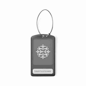 International Luggage Tag Black