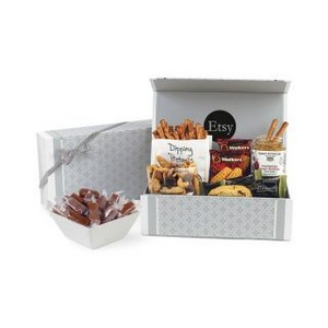 Sunsational Moroccan Mosaic Gourmet Snack Box Light Grey Moroccan