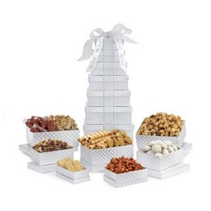 Sunsational Deluxe Shimmering Sweets and Snacks Gourmet Tower Sil