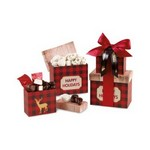 Plaid Tidings Holiday Sweets Tower Red Buffalo Plaid