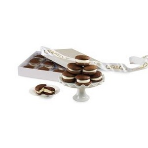 Whoopie Pie Gems Gift Box Grey and White