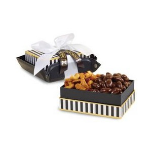 Exeter Executive Tray of Treats Black-Black and White