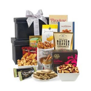 Premium Executive Gourmet Keepsake Tower Black