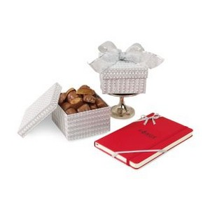 Moleskine? Notebook & Sparkling Almond Butter Toffee Gift Box Sca