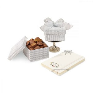 Moleskine  Notebook  Sparkling Almond Butter Toffee Gift Box Whi