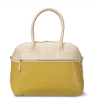 Isaac Mizrahi™ Vivienne Travel Bag Bone/Sunflower