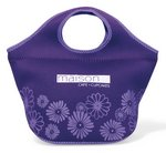 Ella Neoprene Cooler - Puple/Light Purple Pattern
