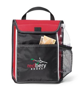 Indulge Lunch Cooler - Red - Kid Friendly