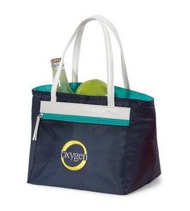 Isaac Mizrahi™ Grace Lunch Cooler - Navy - Kid Friendly