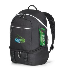 Summit Backpack Cooler - Black - Kid Friendly