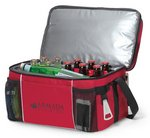 Campsite Cooler Red
