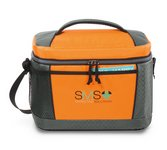 Aspen Lunch Cooler -  Orange - Kid-friendly